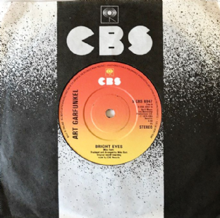 "Art Garfunkel ‎- Bright Eyes (7"") (VG+/VG+)"